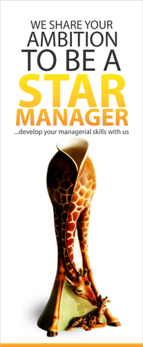 your journey to managerial stardom starts here.